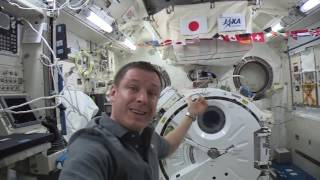 Quick Overview of the Kibo Airlock | ISS Video