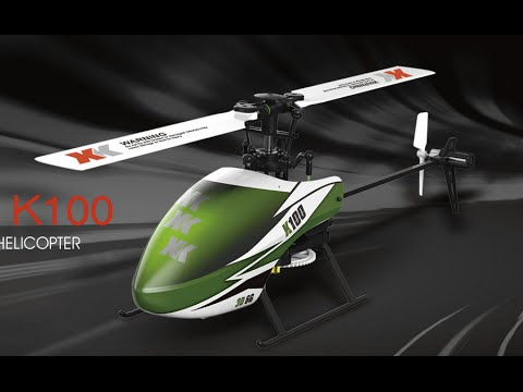 XK K100 Brushless Helicopter – Test Flight