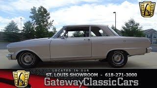 #6937 1962 Chevrolet Chevy II - Gateway Classic Cars of St. Louis