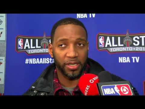 NBA All-Star Celebrity Game: Tracy McGrady  - February 12, 2016