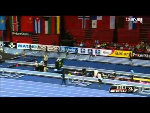 XL-Galan Stockholm, SWEDEN 06.02.2014 world record Dibaba