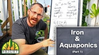 Iron in Aquaponics