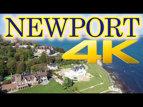 Newport Rhode Island Travel Tour 4K