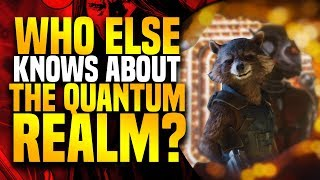 Avengers 4: Rocket Raccoon's Friend Who Created The Quantum Realm ( Microverse )