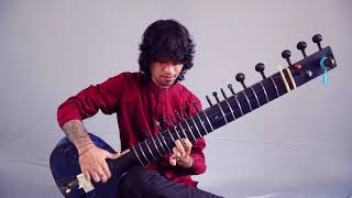 """THE DILLINGER ESCAPE PLAN On The SITAR - Rishabh Seen Covers """"When I Lost My Bet"""" 