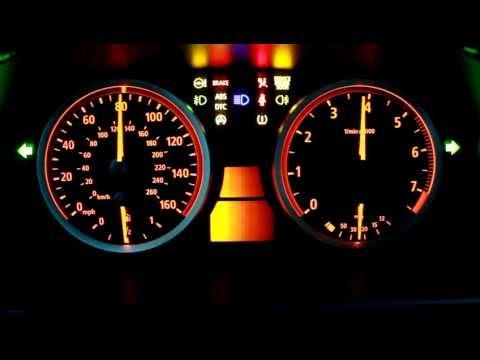 BMW E60 530 XI KI - TEST | Dashboard Test | Тест приборной панели