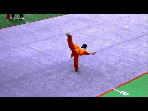 第20回 JOC Jr武術太極拳大会 女子長拳A 8.96 一位 山本 千尋