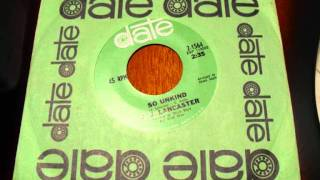 J.J. Lancaster - So unkind (60
