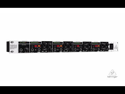 POWERPLAY HA4700 4-Channel Headphones Mixing and Distribution Amplifier