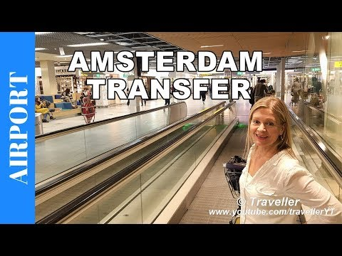 Flight Transfer at Amsterdam Airport Schiphol and Airport Tour - Airport Information