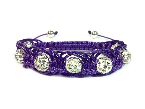 "DIY: Shambala macrame bracelet ""Arachne"" / ""Арахна"" макраме браслет шамбала"