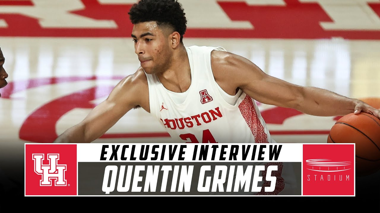 Houston's Quentin Grimes Joins College Hoops Insiders | Stadium