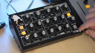 Moog Minitaur analog Bass-Synthesizer