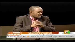 Power Breakfast Interview: Makueni Politics