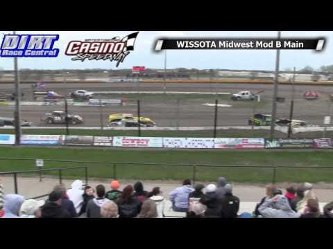 Casino Speedway 5 18 14 WISSOTA Midwet Modified Races