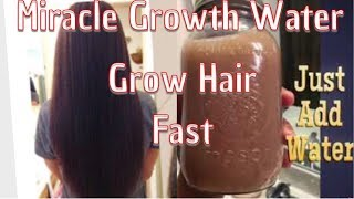 GROW HAIR FAST MIRACLE GROWTH WATER™️ CUSTOMER Before & After  PICTURES