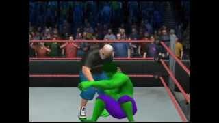 Angry Grandpa Smash Incredible Hulk