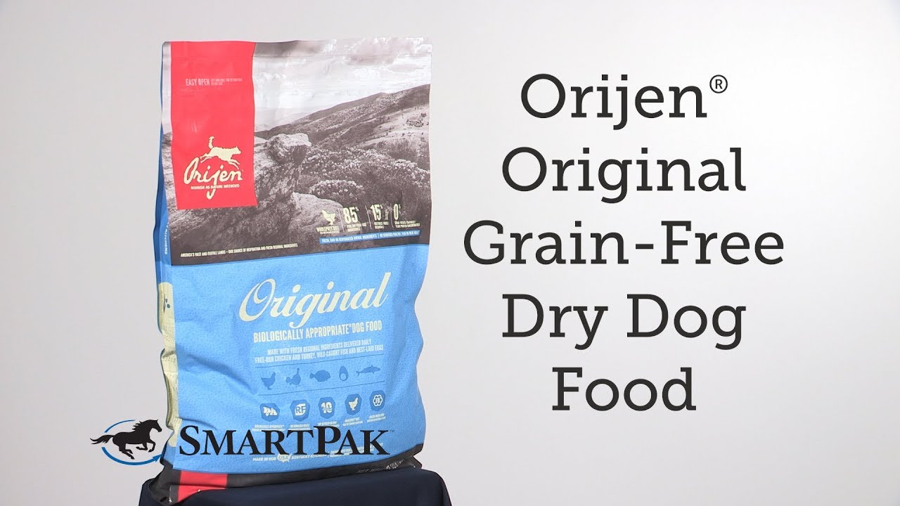Orijen Original Grain Free Dry Dog Food Review Youtube