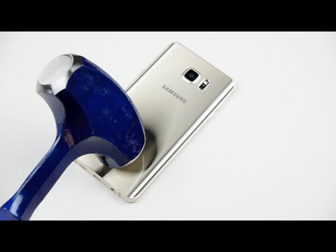 Samsung Galaxy Note 5 Hammer & Knife Test!