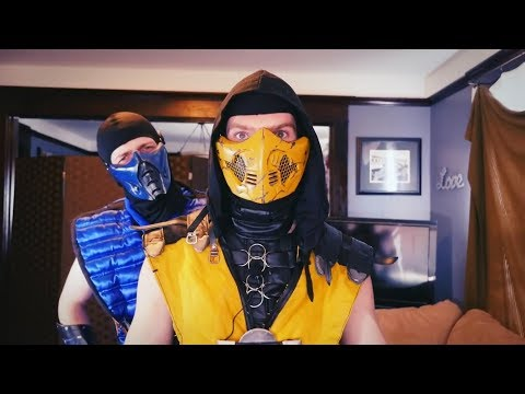 Real Mortal Kombat - COUPLES THERAPY 2 Follow up W/ RAIDEN | MKX PARODY!