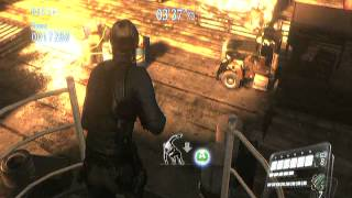 RESIDENT EVIL 6 HIGH SEAS FORTRESS STAGE   THE MERCENARIES