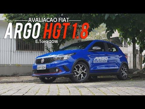 Avaliação | Novo Fiat Argo HGT 1.8 Automático 2018 | Curiosidade Automotiva®