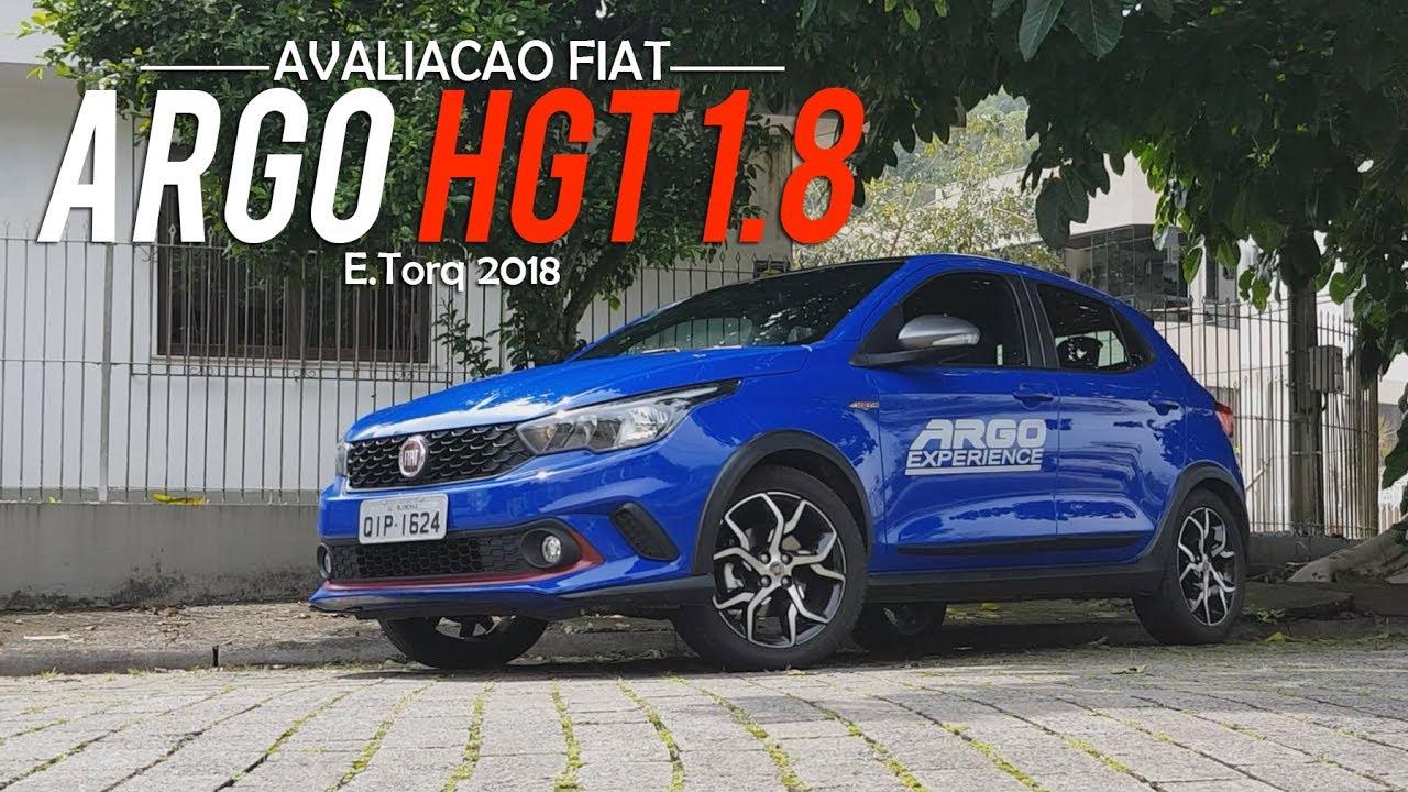 Avalia    o   Novo    Fiat       Argo       HGT    18 Autom  tico 2018