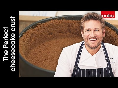 How To Make The Perfect Cheesecake Crust With Curtis Stone