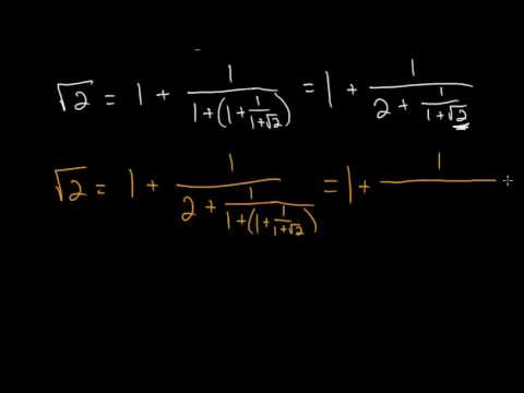 Continued Fractions: Square Root of 2