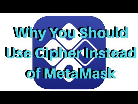 Why You Should Use Cipher Instead Of MetaMask