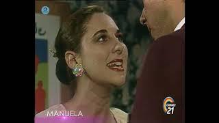 """🎭 Сериал """"Мануэла"""" 211 серия, 1991 год, Гресия Кольминарес, Хорхе Мартинес"""