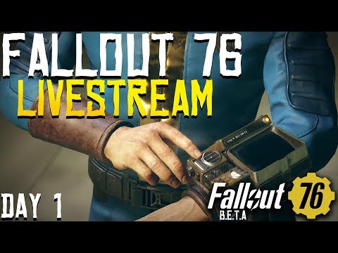 Fallout 76 - Launch Day Let's Go!!!! Fallout 76 ONLINE!!! thumbnail