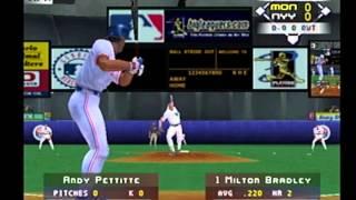 high heat baseball 2002 ps2 yankees at expos