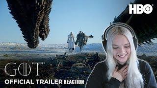 Game of Thrones | Season 8 | Official Trailer REACTION