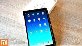 распаковка Андроид Планшета Xiaomi Mi Pad 4. Первые впечатления