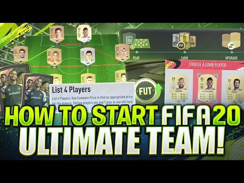 How To Start FIFA 20 Ultimate Team