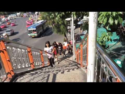 Victory Monument (อนุสาวรีย์ชัยสมรภูมิ) Travel Hub Market Bangkok Thailand
