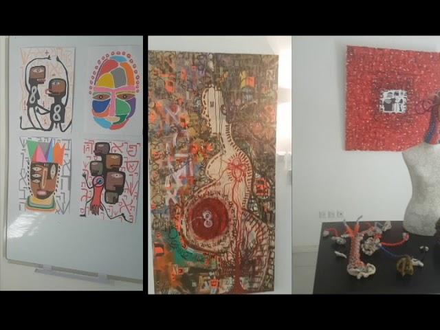 Arte e Cultura - Exposição de Alander Espécie no CCB Tel Aviv