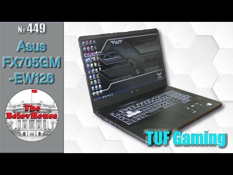 Доступная мощь - игровой ноутбук Asus TUF Gaming FX705GM-EW126