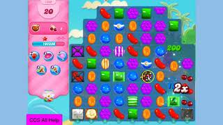 Candy Crush Saga Level 1639 New NO BOOSTERS Cookie