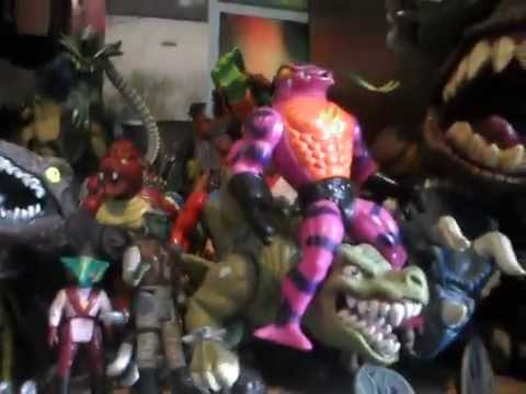 My Extraterrestrial Figures Collection.AVI