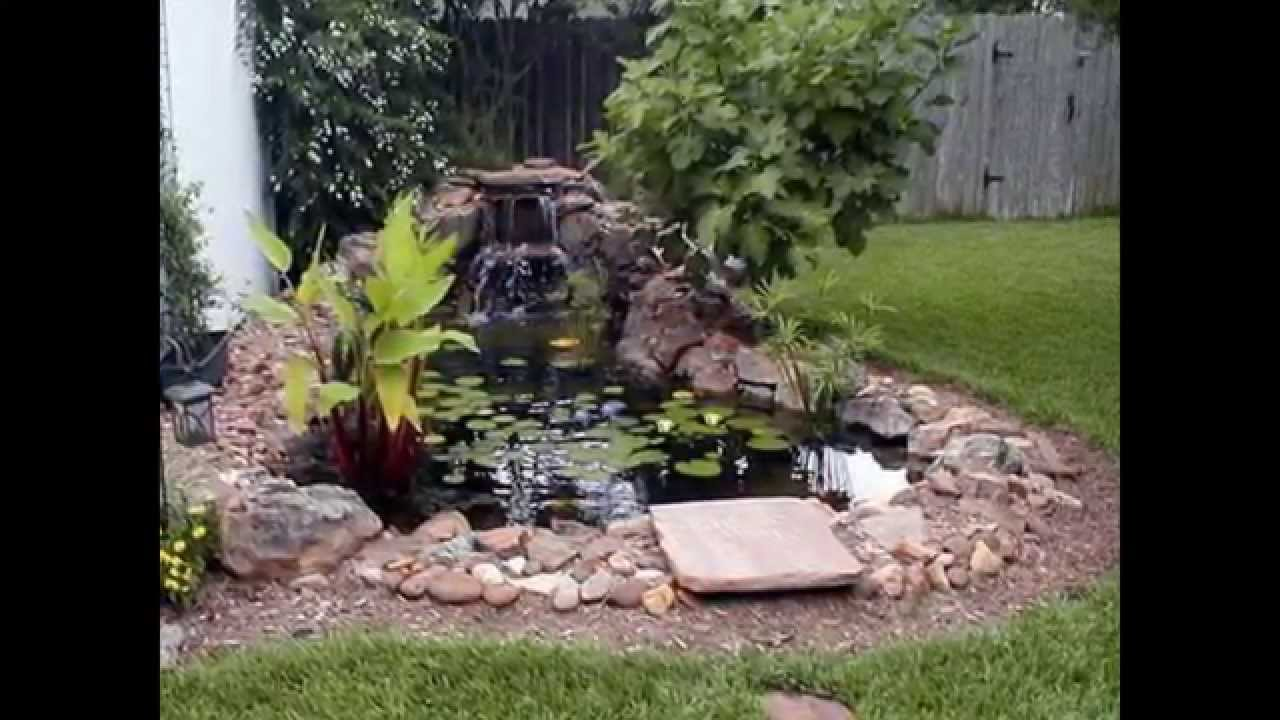 Solar Fountains Garden