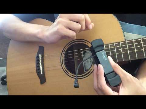 isolo wireless microphone guitar position recording test