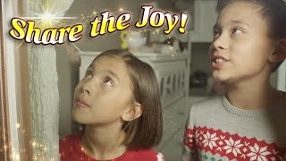 SHARE THE JOY!!! Disney & Toys For Tots Holiday MINI MOVIE!