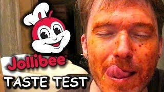 CRAZY JOLLIBEE TASTE TEST 🍔