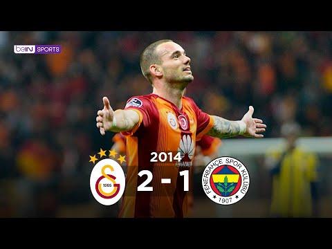 Galatasaray 2 - 1 Fenerbahçe Maç Özeti 18 Ekim 2014