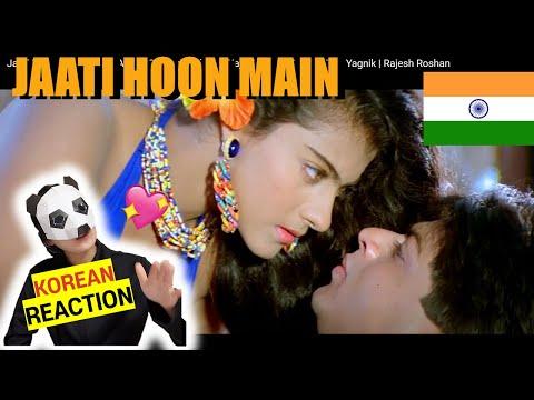 KOREAN React To Jaati Hoon Main - Karan Arjun | Shahrukh Khan \u0026 Kajol | Kumar Sanu \u0026 Alka Yagnik indir