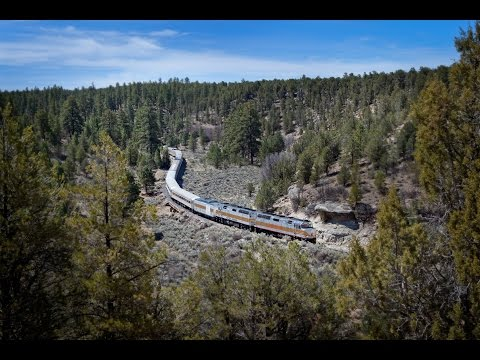 Grand Canyon Railway Day Trip - Video