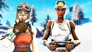 a RENEGADE RAIDER challenges me to 1v1 for my RECON EXPERT account. Fortnite