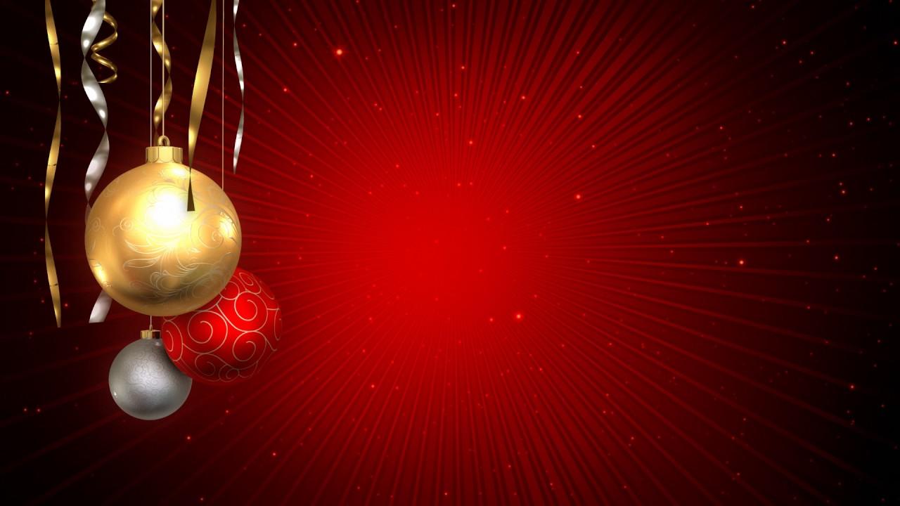 Fondos De Navidad En Hdboxbaster: Fondo Video Background Full HD Christmas Dreams Esferas De